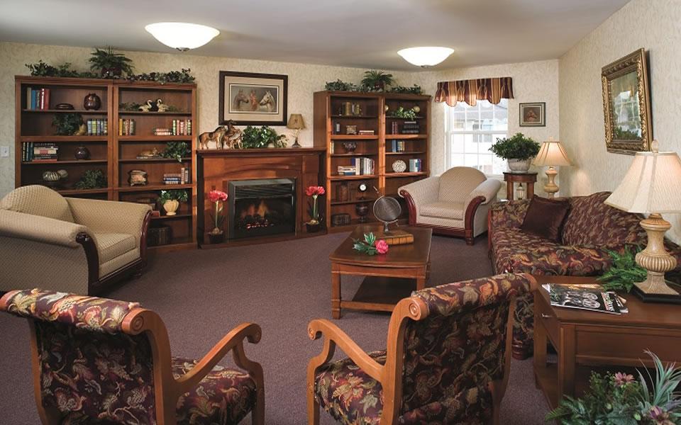 specialty roomlibrarycommon area